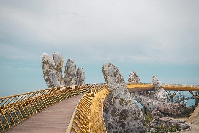 Golden Bridge and Ba Na hills Full day Private tour from Da Nang City