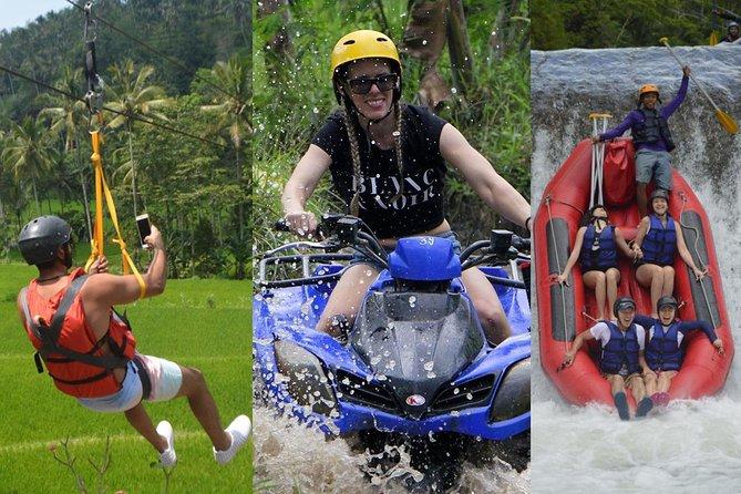 Zipline + Rafting + ATV