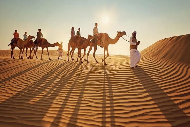 Arabian Desert Safari Experience With Bab Al Shams Dinner at Al Hadheerah