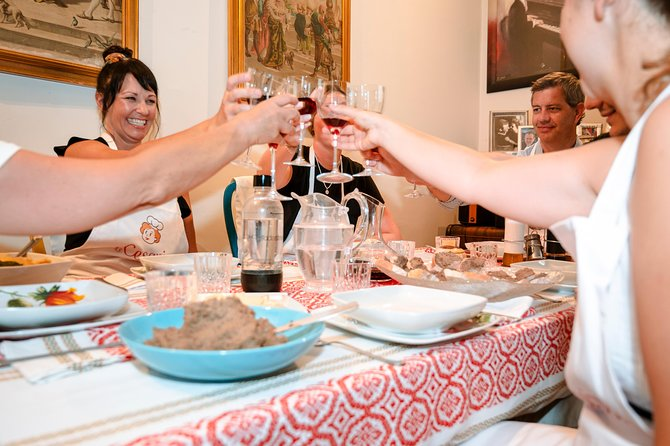 Dining experience at a local's home in La Spezia with show cooking