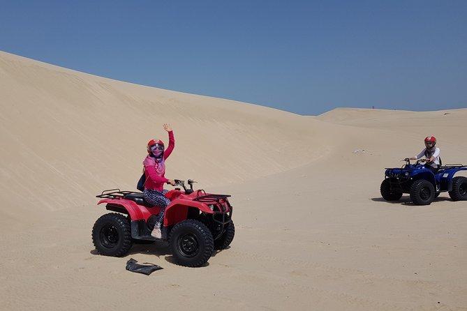 ATV 4 x 4 Experience through Qatari Desert
