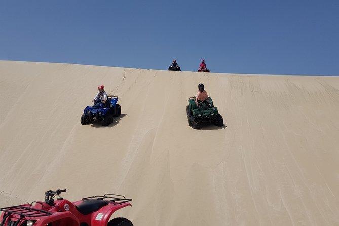 Sliding over the dunes