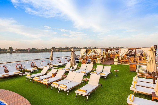 Sailing Nile Cruise from Aswan to Luxor for 3 Nights