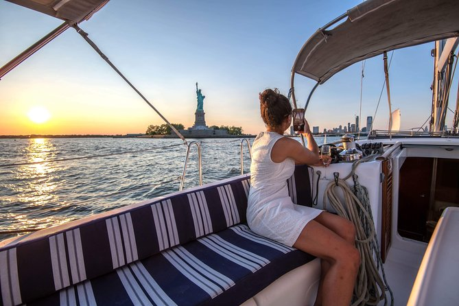 Private Sunset Sail - NYC & Statue of Liberty Tour