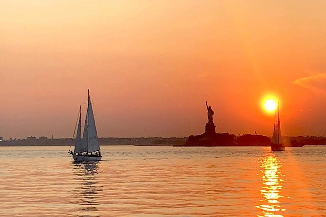 Private Sunset Sail to the Statue of Liberty
