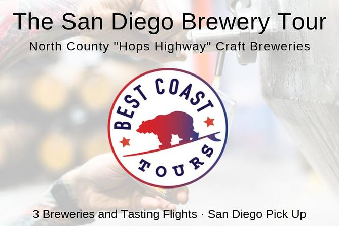 "The San Diego North County ""Hops Highway"" Craft Brewery Tour"