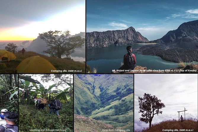 3D2N Rinjani Trekking and Waterfalls via Aik Berik, Central Lombok