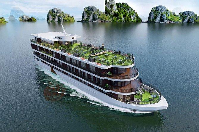 Margaret Cruise Halong Bay 5 Star Cruise 2 Days 1 Night