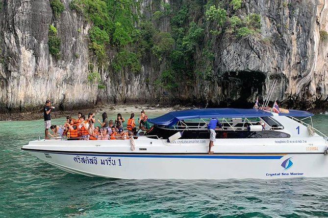 Phi Phi Bamboo Tour by Speed Boat