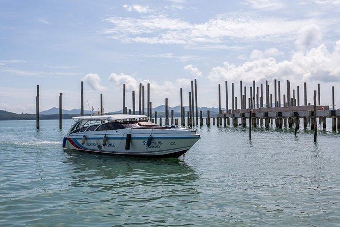 Koh Yao Noi to Koh Phi Phi by Koh Yao Sun Smile Speed Boat