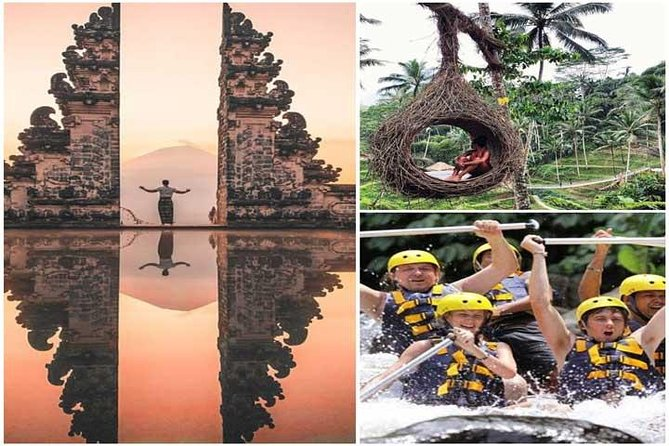 ALL INCLUSIVE:Ayung Rafting Ubud With Gate Of Heaven