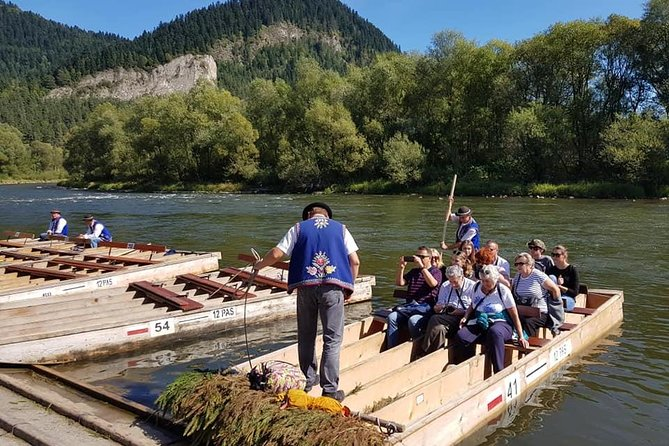 Dunajec Rafting private transport from Krakow