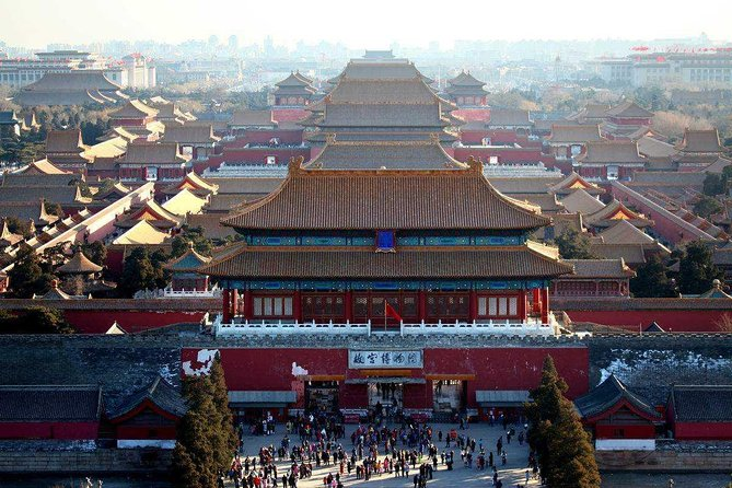 Xi'an Private Bullet Train Trip to Beijing Including Forbidden City Tour