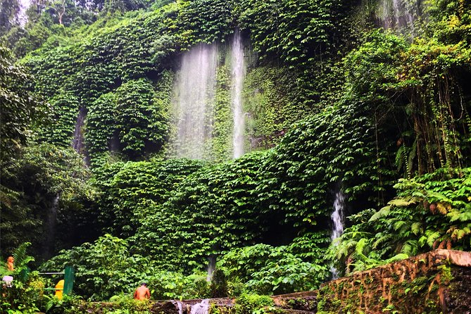 Benang kelambu waterfall and benang stokel waterfall lombok