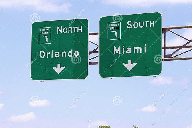 Private Transport from Orlando to Miami