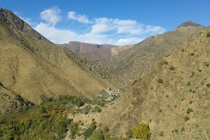 Day Trip in Atlas Mountains Hiking and Exploring the waterfalls .