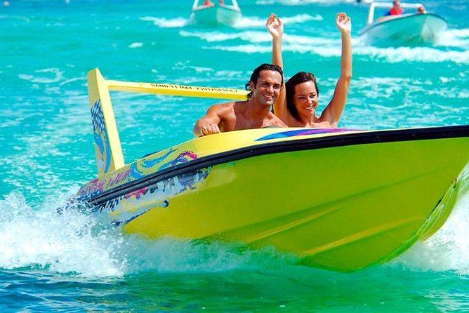 Speedboats and Snorkel in Cancun