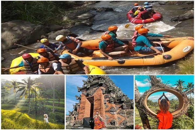 ALL INCLUSIVE Ubud Tour: Ayung Rafting, Rice terrace & Batuan Temple