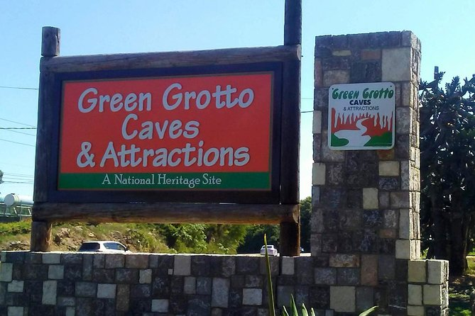 Green Grotto Caves and Columbus Park Day Tour