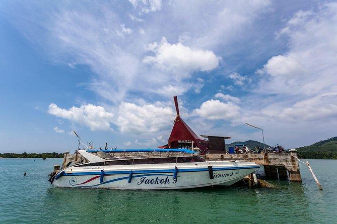 Koh Yao Yai to Koh Lanta via Ao Nang by Koh Yao Sun Smile Speed Boat
