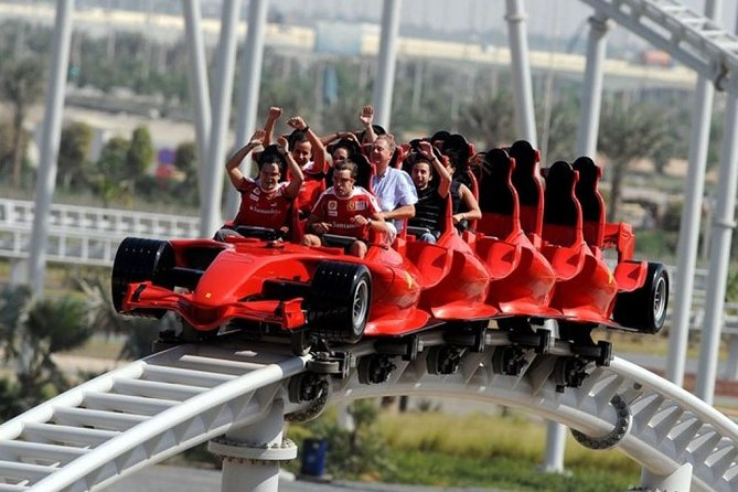 Dubai Ferrari World Theme Park Premium Ticket