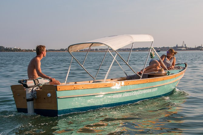 Electric Boat Rental by Classic Boats Venice