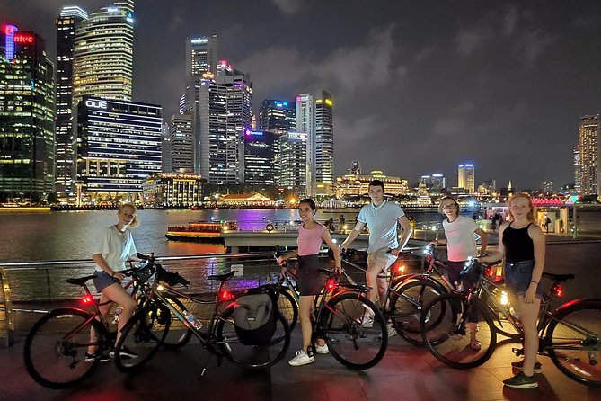Marina Bay Night Cycling Tour
