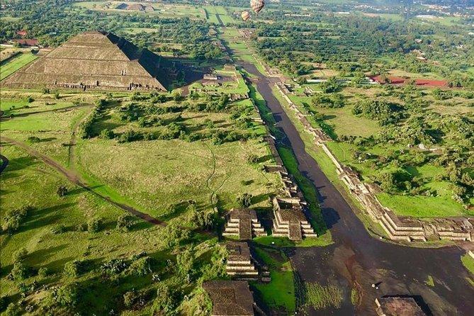 Basilica and Pyramids of Teotihuacan Tour