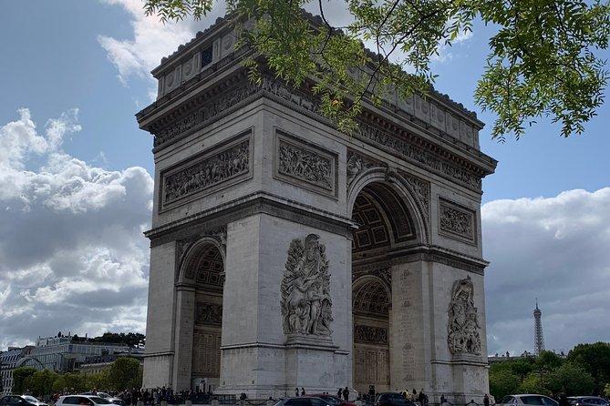 l'Arc de Triomphe & The Historic Champs-Elysées