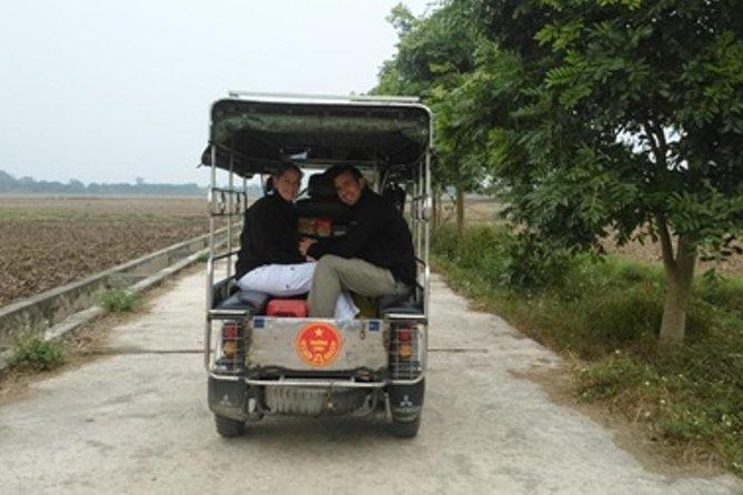 Hanoi Three Wheel Motorbike Tour