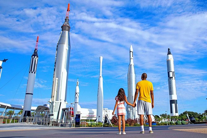 Round Trip Transport to Kennedy Space Center Complex Visitor