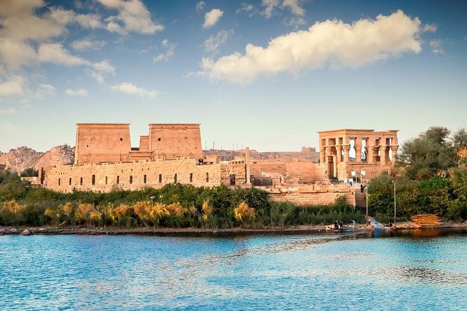 Amazing Full-Day Tour to Aswan Philae Temple by Train from Luxor