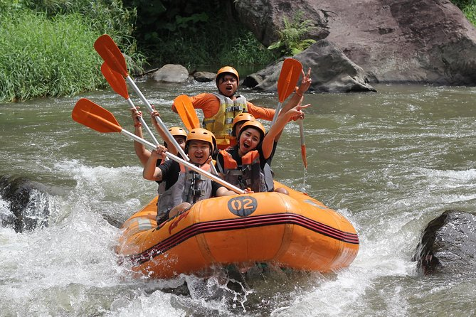 Bali White Water Rafting with Toekad