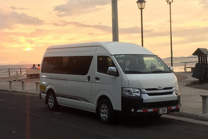 Private Shuttle from San Jose airport to Caldera