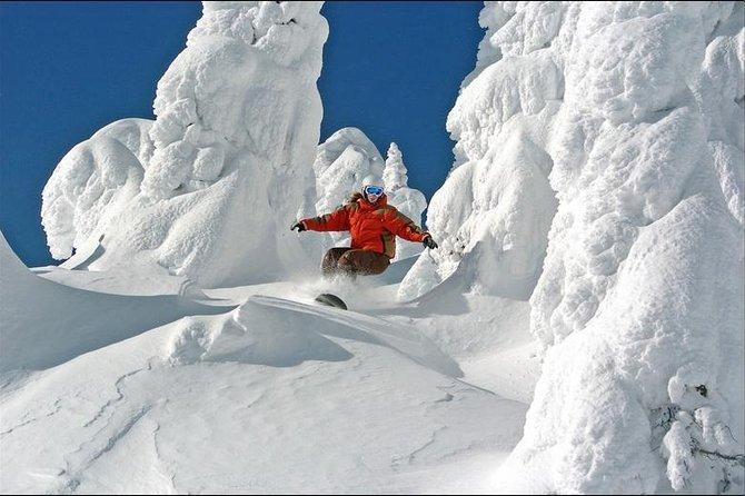 """Big White Ski Shuttle """"More Service More Flexibility More Value"""""""