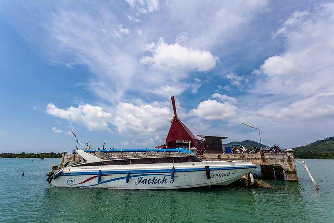 Koh Yao Yai to Railay Beach by Koh Yao Sun Smile Speed Boat