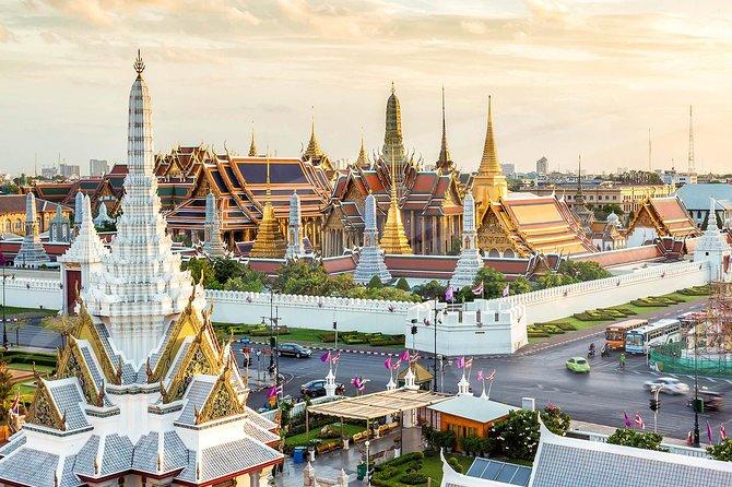 Bangkok Royal Road - Os 3 principais monumentos principais (Grande Palácio, Wat Pho, Wat Arun)