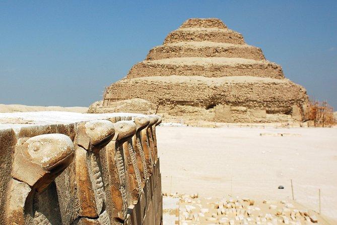 Giza pyramids, Sakkara, Memphis day tour with Lunch