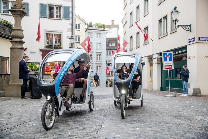 Boutique Chocolate Store Tour in a Private TaxiBike: Zürich