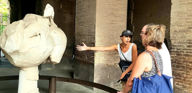 COLOSSEUM guided tour + skip the line ticket photo 3