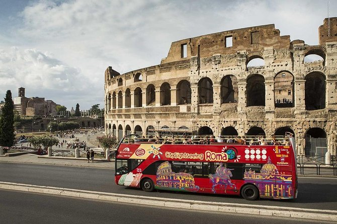 ROME : Hop on Hop off bus 1 day
