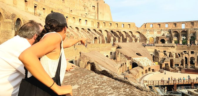 COLOSSEUM guided tour + skip the line ticket