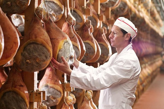 Small Group Parma Ham Farm tour