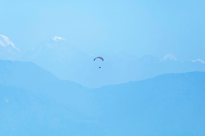 Paragliding from Pokhara
