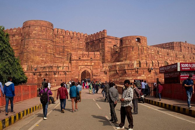 Taj Mahal Same day Trip from Agra Railway Station,Hotels,Airport