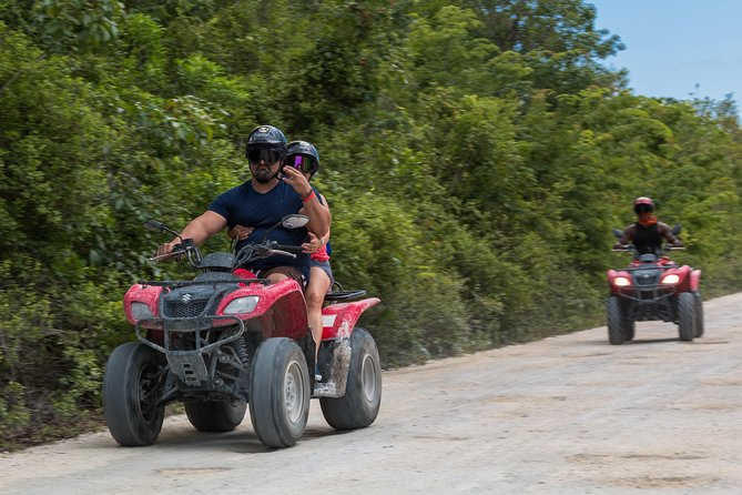 ATV Mud kicking & Beach Club chill by Tortugas Cozumel® photo 4