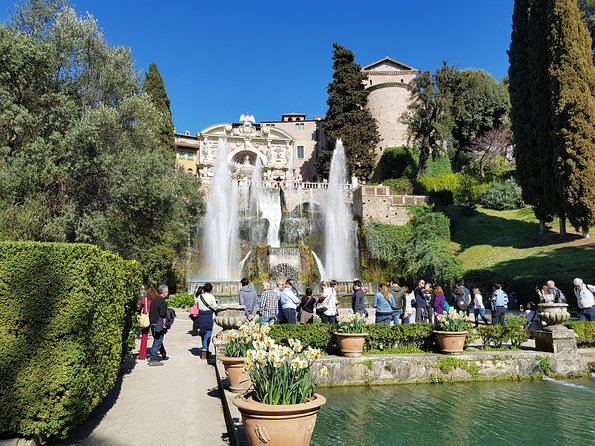 Skip the Line: Tivoli - Ticket to Villa d'Este