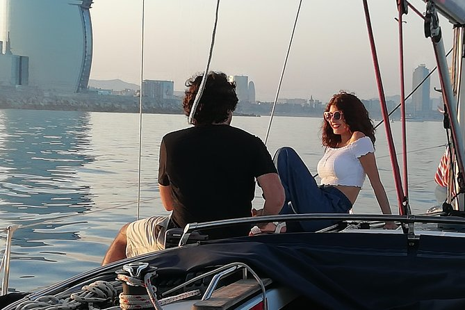 Barcelona Sailing Sunset Experience Exclusive Private Sailboat from Port Vell