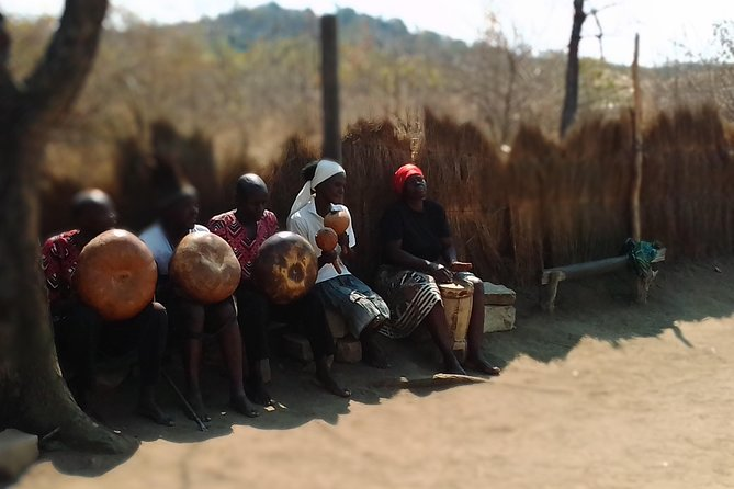 Mbira players at Great Zimbabwe
