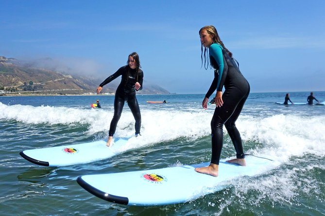 Bring a friend and learn to surf!